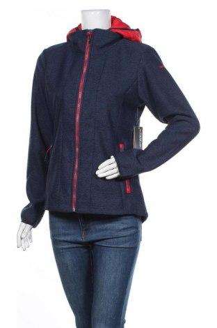 Γυναικείο μπουφάν αθλητικό Icepeak, Μέγεθος L, Χρώμα Μπλέ, Πολυεστέρας, Τιμή 32,48€
