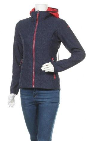Γυναικείο μπουφάν αθλητικό Icepeak, Μέγεθος S, Χρώμα Μπλέ, Πολυεστέρας, Τιμή 31,20€