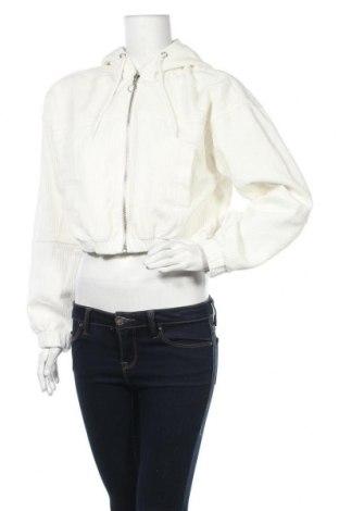 Γυναικείο μπουφάν BDG, Μέγεθος S, Χρώμα Λευκό, Βαμβάκι, Τιμή 26,68€