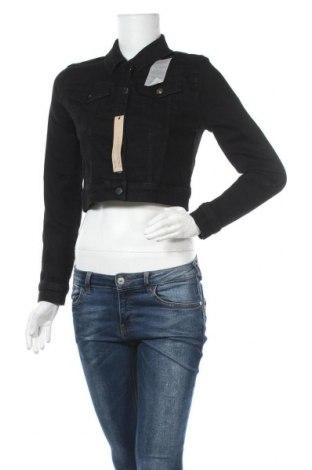 Γυναικείο μπουφάν Na-Kd, Μέγεθος M, Χρώμα Μαύρο, 98% βαμβάκι, 2% ελαστάνη, Τιμή 27,83€
