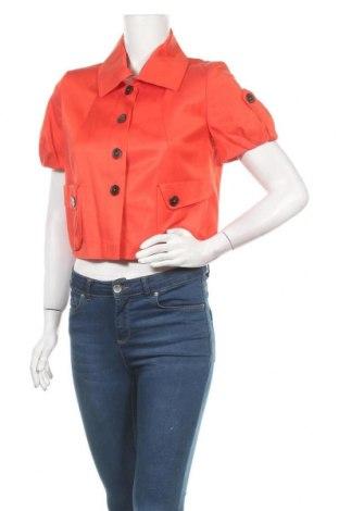 Дамско яке Nicowa, Размер S, Цвят Оранжев, 58% вискоза, 39% памук, 3% еластан, Цена 15,99лв.