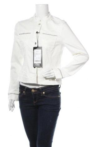 Γυναικείο μπουφάν S.Oliver, Μέγεθος M, Χρώμα Λευκό, 50% βαμβάκι, 40% βισκόζη, 8% πολυεστέρας, 2% ελαστάνη, Τιμή 46,17€