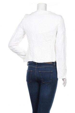 Γυναικείο μπουφάν Tom Tailor, Μέγεθος S, Χρώμα Λευκό, 55% λινό, 45% βισκόζη, Τιμή 65,33€