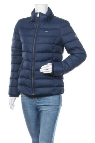 Γυναικείο μπουφάν Tommy Hilfiger, Μέγεθος M, Χρώμα Μπλέ, Πολυεστέρας, φτερά και πούπουλα, Τιμή 200,52€