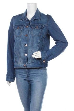 Γυναικείο μπουφάν Topshop Moto, Μέγεθος M, Χρώμα Μπλέ, 92% βαμβάκι, 8% πολυεστέρας, Τιμή 16,15€