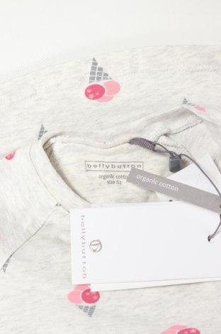 Детска блуза Belly Button, Размер 2-3m/ 56-62 см, Цвят Сив, 95% памук, 5% еластан, Цена 24,00лв.