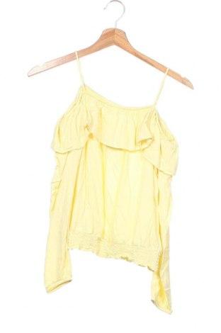 Dětská halenka  H&M, Velikost 13-14y/ 164-168 cm, Barva Žlutá, Viskóza, Cena  288,00Kč