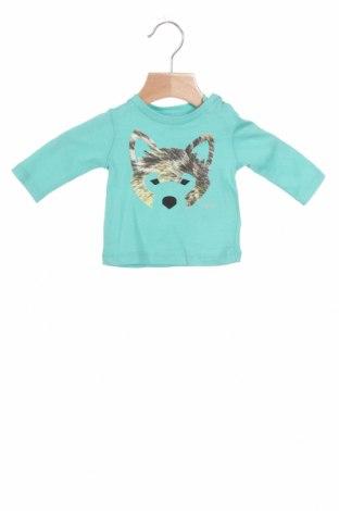 Παιδική μπλούζα Mexx, Μέγεθος 0-1m/ 50 εκ., Χρώμα Πράσινο, Βαμβάκι, Τιμή 12,37€