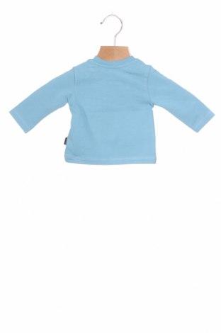 Детска блуза Noppies, Размер 1-2m/ 50-56 см, Цвят Син, 95% памук, 5% еластан, Цена 25,50лв.