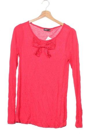 Παιδική μπλούζα Okay, Μέγεθος 15-18y/ 170-176 εκ., Χρώμα Κόκκινο, Βισκόζη, Τιμή 11,69€