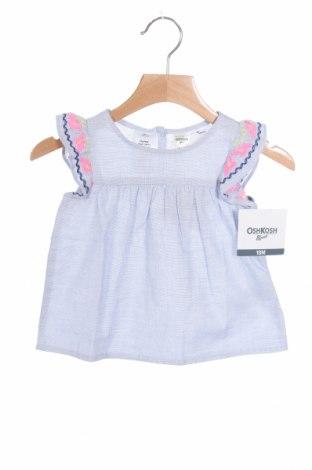 Παιδική μπλούζα Oshkosh, Μέγεθος 12-18m/ 80-86 εκ., Χρώμα Μπλέ, Βαμβάκι, Τιμή 7,92€