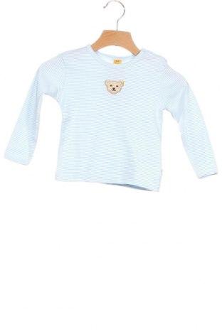 Παιδική μπλούζα Steiff, Μέγεθος 6-9m/ 68-74 εκ., Χρώμα Μπλέ, Βαμβάκι, Τιμή 17,18€