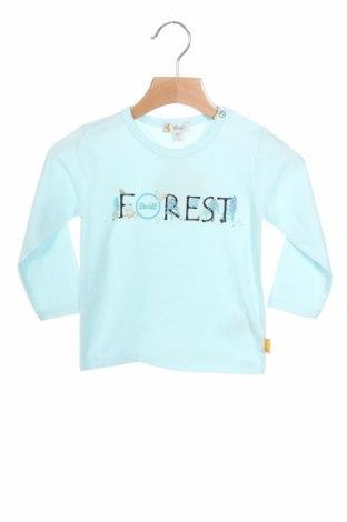 Παιδική μπλούζα Steiff, Μέγεθος 9-12m/ 74-80 εκ., Χρώμα Μπλέ, 96% βαμβάκι, 4% ελαστάνη, Τιμή 11,75€