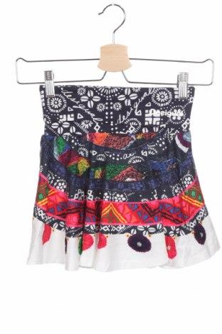 Παιδική φούστα Desigual, Μέγεθος 6-7y/ 122-128 εκ., Χρώμα Πολύχρωμο, 99% βαμβάκι, 1% ελαστάνη, Τιμή 17,79€