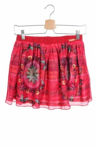 Dětská sukně  Desigual, Velikost 12-13y/ 158-164 cm, Barva Červená, Bavlna, polyester, Cena  836,00Kč