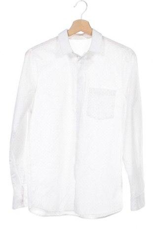 Детска риза H&M, Размер 14-15y/ 168-170 см, Цвят Бял, 68% полиестер, 32% памук, Цена 9,46лв.