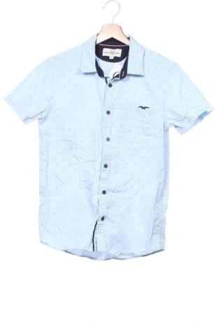 Dětská košile  Hampton Republic, Velikost 12-13y/ 158-164 cm, Barva Modrá, Bavlna, Cena  273,00Kč