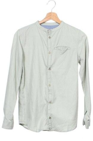 Dětská košile  Primark, Velikost 12-13y/ 158-164 cm, Barva Zelená, Bavlna, Cena  288,00Kč