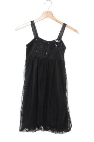 Dětské šaty  H&M, Velikost 8-9y/ 134-140 cm, Barva Černá, Polyester, Cena  439,00Kč