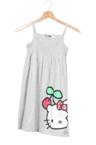 Dětské šaty  H&M, Velikost 6-7y/ 122-128 cm, Barva Šedá, 94% bavlna, 6% elastan, Cena  393,00Kč