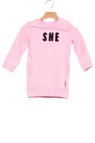 Dětské šaty  Noppies, Velikost 12-18m/ 80-86 cm, Barva Růžová, 95% bavlna, 5% elastan, Cena  466,00Kč