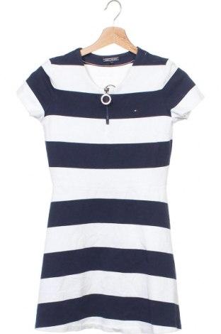 Dětské šaty  Tommy Hilfiger, Velikost 15-18y/ 170-176 cm, Barva Modrá, 68% bavlna, 28% polyester, 4% elastan, Cena  660,00Kč