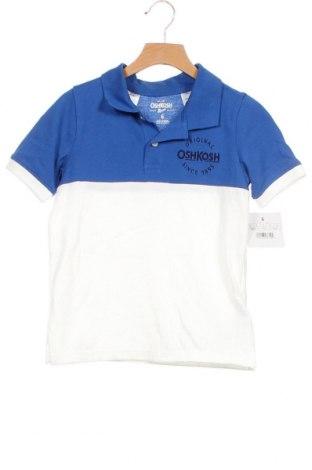 Παιδικό μπλουζάκι Oshkosh, Μέγεθος 5-6y/ 116-122 εκ., Χρώμα Λευκό, Βαμβάκι, Τιμή 8,31€