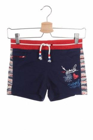 Dětské krátké kalhoty  Desigual, Velikost 8-9y/ 134-140 cm, Barva Modrá, 84% bavlna, 16% polyester, Cena  730,00Kč