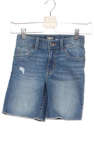 Παιδικό κοντό παντελόνι Oshkosh, Μέγεθος 4-5y/ 110-116 εκ., Χρώμα Μπλέ, Βαμβάκι, Τιμή 13,15€