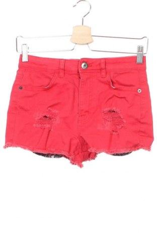 Παιδικό κοντό παντελόνι U2B, Μέγεθος 5-6y/ 116-122 εκ., Χρώμα Κόκκινο, 98% βαμβάκι, 2% ελαστάνη, Τιμή 15,59€