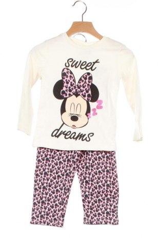 Детски комплект Disney, Размер 2-3y/ 98-104 см, Цвят Многоцветен, Памук, Цена 27,60лв.