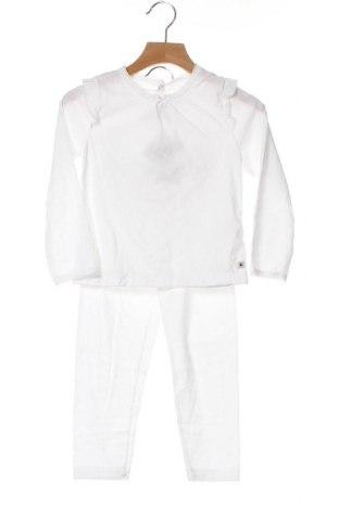 Παιδικό σύνολο Petit Bateau, Μέγεθος 3-4y/ 104-110 εκ., Χρώμα Λευκό, Βαμβάκι, Τιμή 27,69€