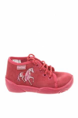 Детски обувки Fischer, Размер 23, Цвят Розов, Текстил, Цена 57,67лв.