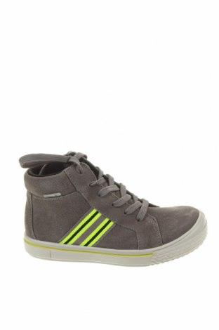 Детски обувки Geox, Размер 29, Цвят Сив, Естествен велур, Цена 101,47лв.
