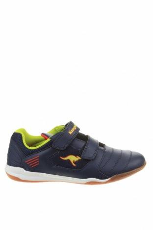 Детски обувки Kangaroos, Размер 39, Цвят Син, Еко кожа, Цена 51,75лв.