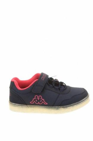 Детски обувки Kappa, Размер 30, Цвят Син, Еко кожа, текстил, Цена 64,97лв.