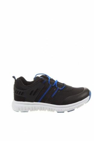 Детски обувки Lamino, Размер 33, Цвят Черен, Текстил, полиуретан, еко кожа, Цена 30,60лв.