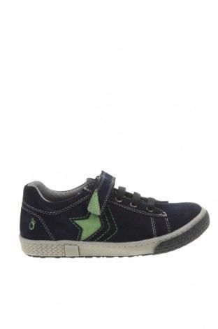 Детски обувки Lamino, Размер 32, Цвят Син, Естествен велур, Цена 74,25лв.