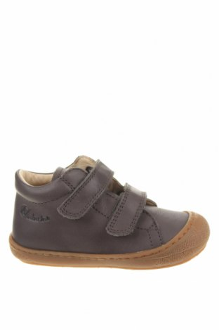 Детски обувки Naturino, Размер 24, Цвят Сив, Естествена кожа, Цена 101,47лв.