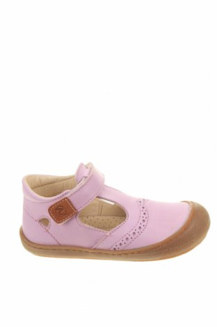 Детски обувки Naturino, Размер 26, Цвят Розов, Естествена кожа, Цена 86,87лв.