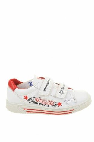 Детски обувки Primigi, Размер 32, Цвят Бял, Естествена кожа, еко кожа, Цена 94,17лв.