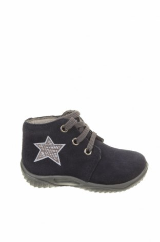 Детски обувки Richter, Размер 20, Цвят Син, Естествен велур, Цена 66,75лв.