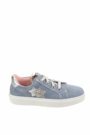 Детски обувки Richter, Размер 28, Цвят Син, Естествен велур, Цена 66,75лв.