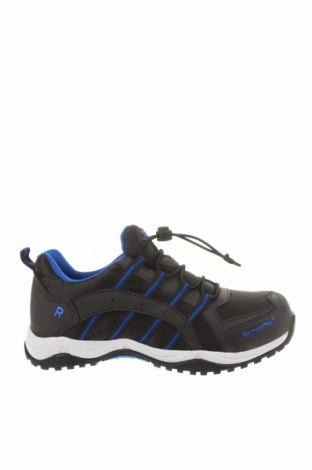 Детски обувки Richter, Размер 33, Цвят Черен, Еко кожа, текстил, Цена 51,75лв.