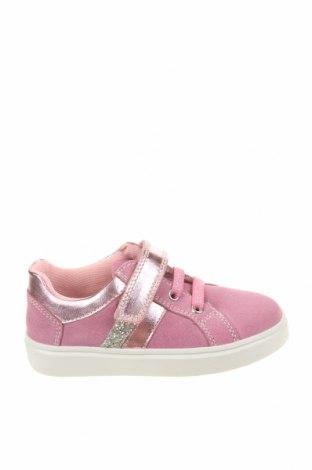 Детски обувки Richter, Размер 26, Цвят Розов, Естествен велур, еко кожа, Цена 51,75лв.