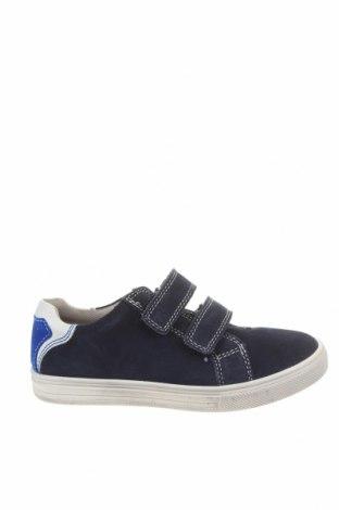 Детски обувки Richter, Размер 33, Цвят Син, Естествен велур, Цена 66,75лв.
