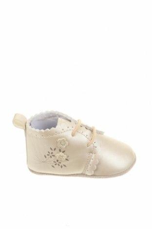 Παιδικά παπούτσια Sterntaler, Μέγεθος 16, Χρώμα Εκρού, Δερματίνη, Τιμή 20,68€