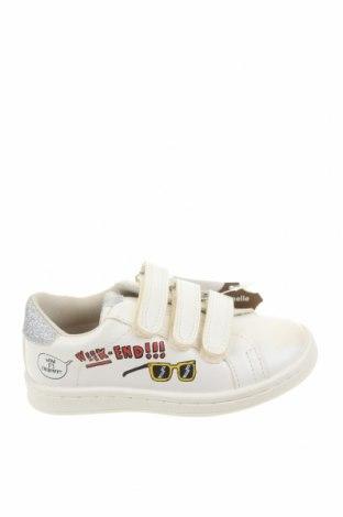 Παιδικά παπούτσια Vertbaudet, Μέγεθος 24, Χρώμα Λευκό, Δερματίνη, Τιμή 27,69€