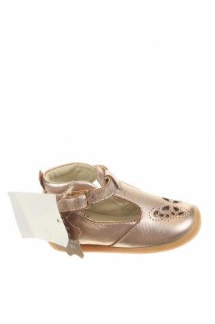 Παιδικά παπούτσια Vertbaudet, Μέγεθος 22, Χρώμα Ρόζ , Γνήσιο δέρμα, Τιμή 30,62€
