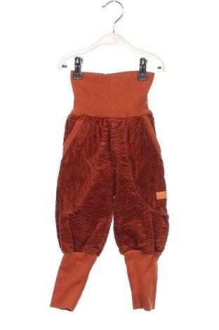 Детски панталон Livi, Размер 18-24m/ 86-98 см, Цвят Оранжев, 95% памук, 5% еластан, Цена 11,96лв.